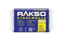 Wełna stalowa Stahlwolle RAKSO 8 Pads NR 1