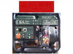 Agregat prądotwórczy DIESEL K&S KS 9000HDE-1/3 ATSR [Z SYSTEMEM VTS] 230V / 400V/12 V 3-fazowy 6,8 kW