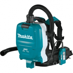 Odkurzacz plecakowy akumulatorowy Makita DVC265ZXU 2x18V AWS