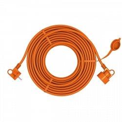 Przedłużacz ogrodowy uniwersalny 2X1,0 H05VV-F (PVC) prosty ACAR EASY 10m