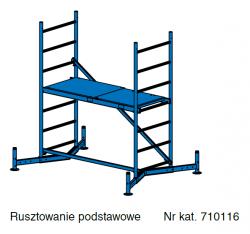 Rusztowanie aluminiowe Krause ClimTec 3,0m 710116