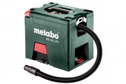 Odkurzacz akumulatorowy Metabo AS 18 L PC 602021850