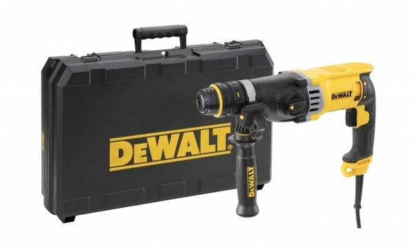 Młotowiertarka 3-Funkcyjna DeWalt D25144Kp SDS-Plus 900W + AKCESORIA