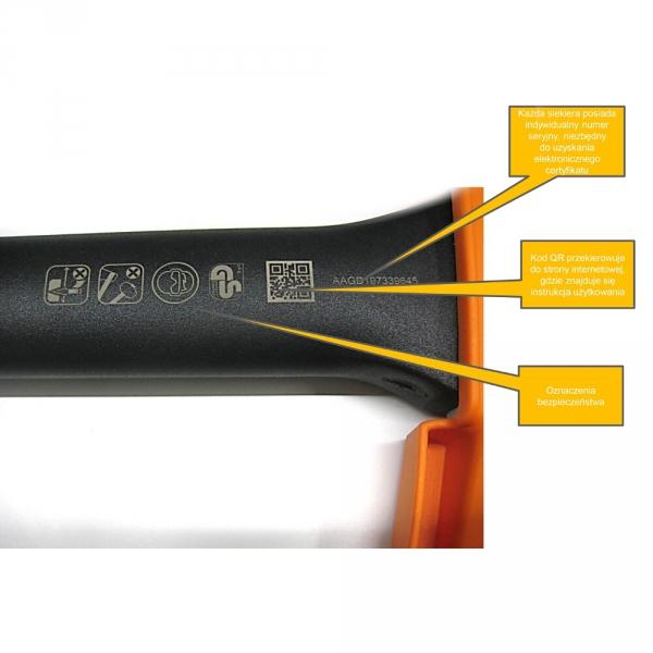Siekiera rozłupująca Fiskars X11 - mała (S) 1015640