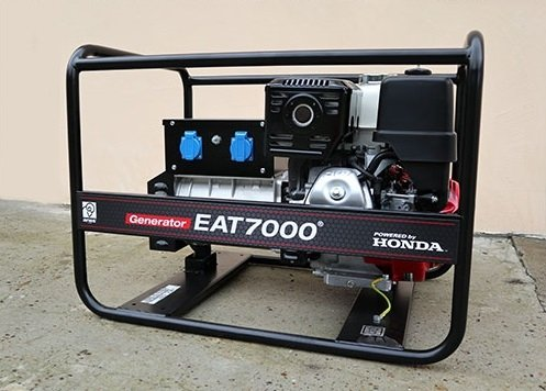 Agregat prądotwórczy HONDA EAT7000 (7kVA) + Olej