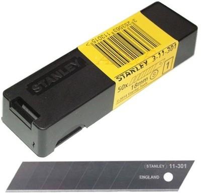 Ostrze wymienne łamane Stanley 50 szt. 18mm 3-11-301