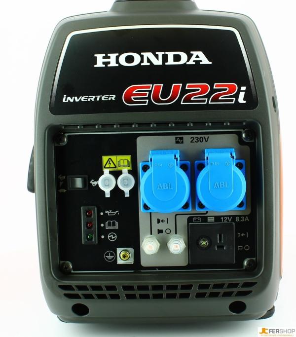 Agregat prądotwórczy HONDA EU22i 2,2kW 90dB(A) + Olej