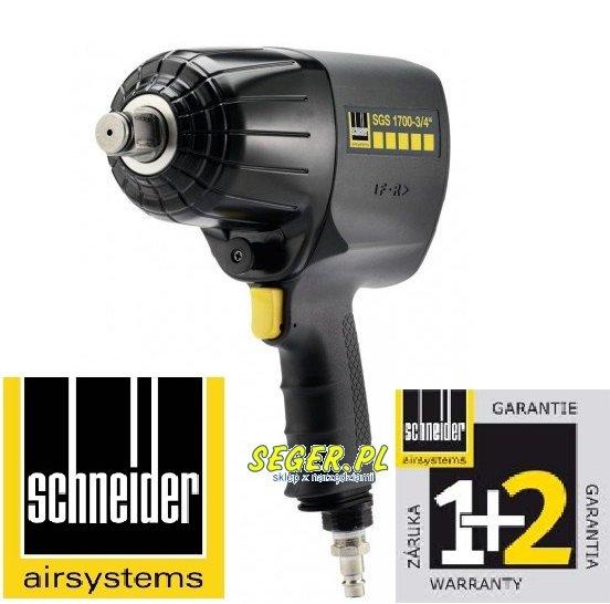 """SCHNEIDER klucz udarowy SGS 1700-3/4"""" D322831"""