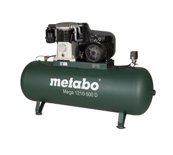 Sprężarka tłokowa Metabo MEGA 1210-500 D trófazowa  4116020968