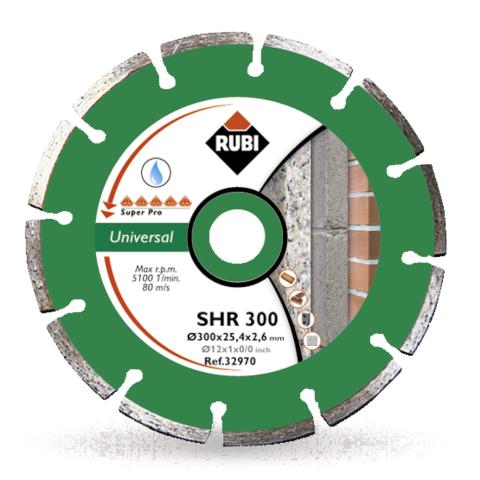 Tarcza diamentowa uniwersalna do materiałów budowlanych SHR 300 SUPERPRO 32970