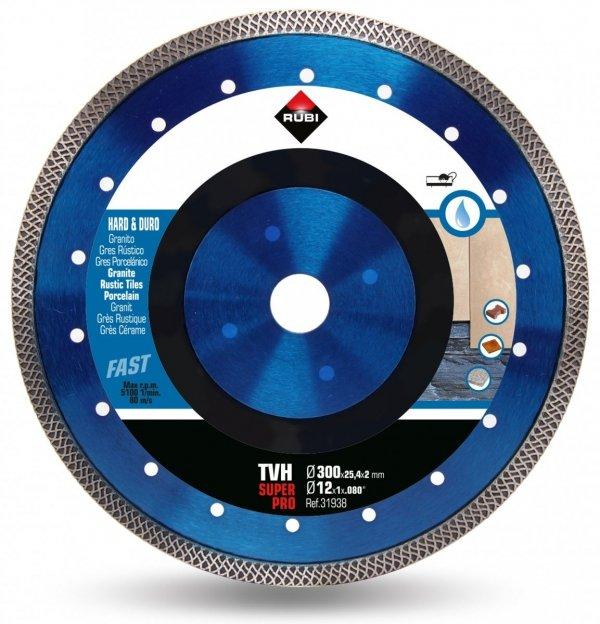 Rubi TVH 300 SUPERPRO (31938), Tarcza diamentowa do materiałów twardych
