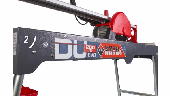 Przecinarka elektryczna RUBI DU-200 EVO 850 54975 z tarczą CEV SUPERPRO