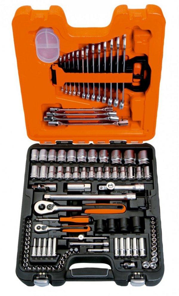 Zestaw kluczy nasadowych 108szt BAHCO S108