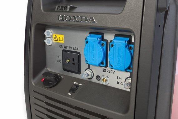 Agregat prądotwórczy HONDA  EU30i 3,0kW 35,2kg 92dB(A)