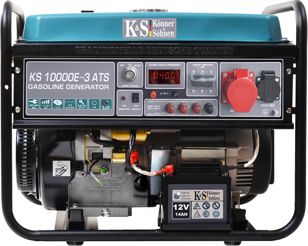 Agregat prądotwórczy benzyna K&S KS10000E-3 ATS 230V / 400V/12 V 3-fazowy 8 kW