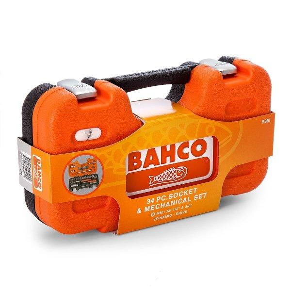 Zestaw kluczy nasadowych 34szt BAHCO S330