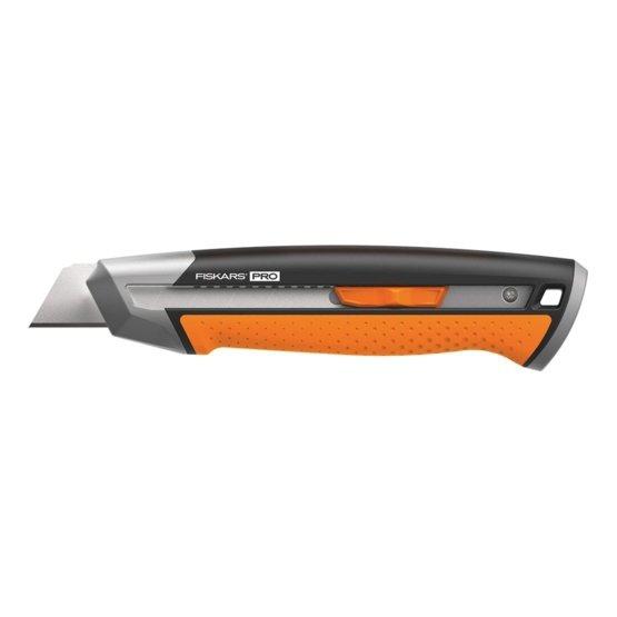 Nóż uniwesalny Fiskars PRO CarbonMax™ z ostrzem łamanym 25mm 1027228