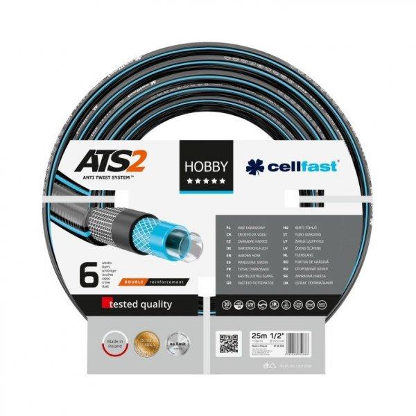 """Wąż ogrodowy Cellfast 16-200 HOBBY ATS2 1/2"""" 25 m"""