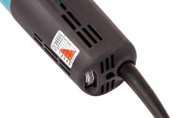 Szlifierka kątowa Makita 9565CVR 125mm z regulacją obr. 1400W