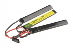 Akumulator LiPo 11,1V 1200mAh 3-modułowy 25/50C