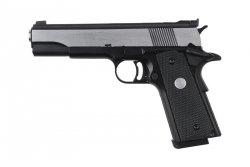 Replika pistoletu R29-Y - srebrno-czarna