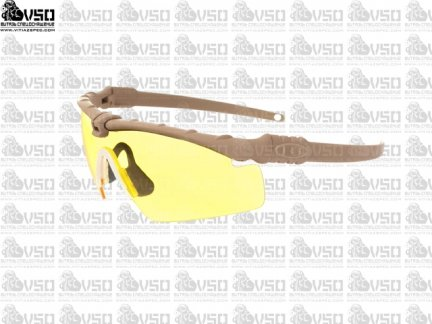 Okulary taktyczne - Dark Earth/Yellow [TMC]