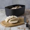 RIG-TIG by Stelton BOX-IT Chlebak - Pojemnik na Chleb z Deską Bambusową Czarny