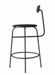 Menu AFTEROOM Stołek Krzesło Barowe 92 cm - Hoker Czarny
