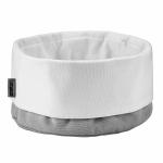 Stelton CLASSIC Bawełniany Kosz na Pieczywo - Chlebak - Beżowo/Biały