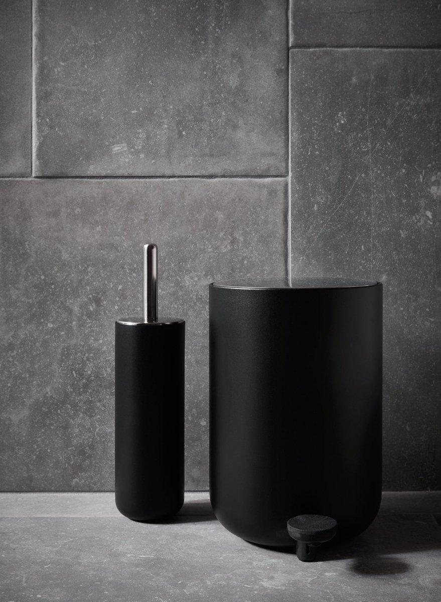 Menu Bath Kosz Na śmieci łazienkowy 7 L Czarny Najlepsze