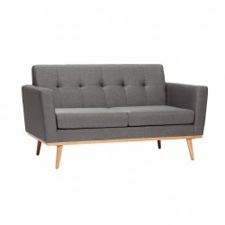 Hübsch NORDIC Sofa 2-Osobowa - Szara