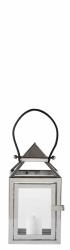 Villa Collection NORDIC Lampion 28 cm Srebrny