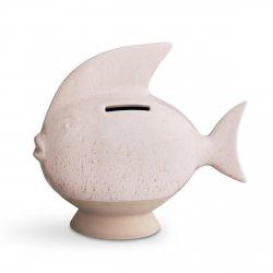 Kähler SPAREDYR Skarbonka Ceramiczna - Różowa
