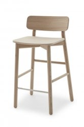 Skagerak HVEN Hoker - Krzesło Barowe - Dąb Naturalny