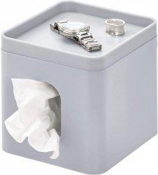 iDesign BOX Pojemnik na Chusteczki - Szary Matowy