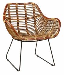 Villa Collection NATURAL Fotel - Krzesło Ratanowe