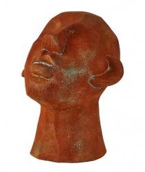 Villa Collection HOME Figura - Rzeźba Dekoracyjna 23 cm Głowa Brązowa