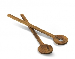Skagerak NORDIC Drewniane Łyżki - Sztućce do Sałaty