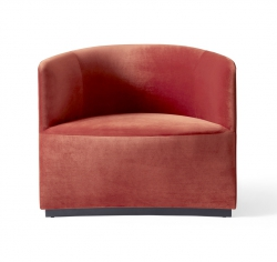 Menu TEAROOM CLUB Fotel Lounge - Czerwony