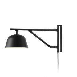 Muuto AMBIT Lampa Ścienna - Kinkiet Czarny