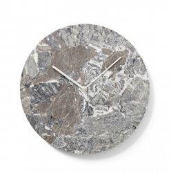 Menu MARBLE Zegar Ścienny Marmurowy - Szary