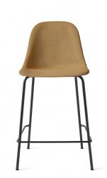 Menu HARBOUR SIDE Krzesło Barowe 102 cm Hoker Jasnoszary - Siedzisko Tapicerowane Odcień Miodowy