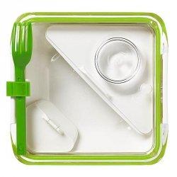 black+blum BOX APPETIT Pojemnik Lunch Box - Zielono/Biały