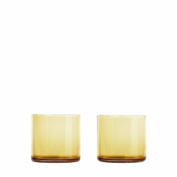 Blomus MERA Szklanki do Wody 2 szt. 200 ml Dull Gold