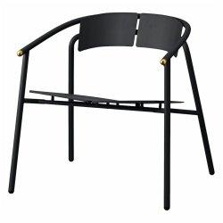 Aytm NOVO Krzesło Stalowe Lounge - Czarne / Złote