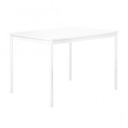 Muuto BASE Stół 140x80 cm Biały - Blat Laminat