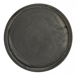 A Simple Mess SOE Okrągła Taca Dekoracyjna 32 cm - Czarna