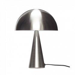 Hübsch MUSH Lampa Stołowa 33 cm Srebrna