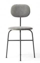 Menu AFTEROOM Krzesło Czarne Tapicerowane - Tkanina Hallingdal 65-130