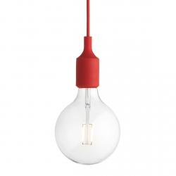 Muuto E27 Lampa Żarówka LED - Czerwona